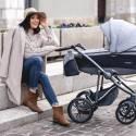 Wózek Bebetto Bresso 3w1 oryginalny fotel