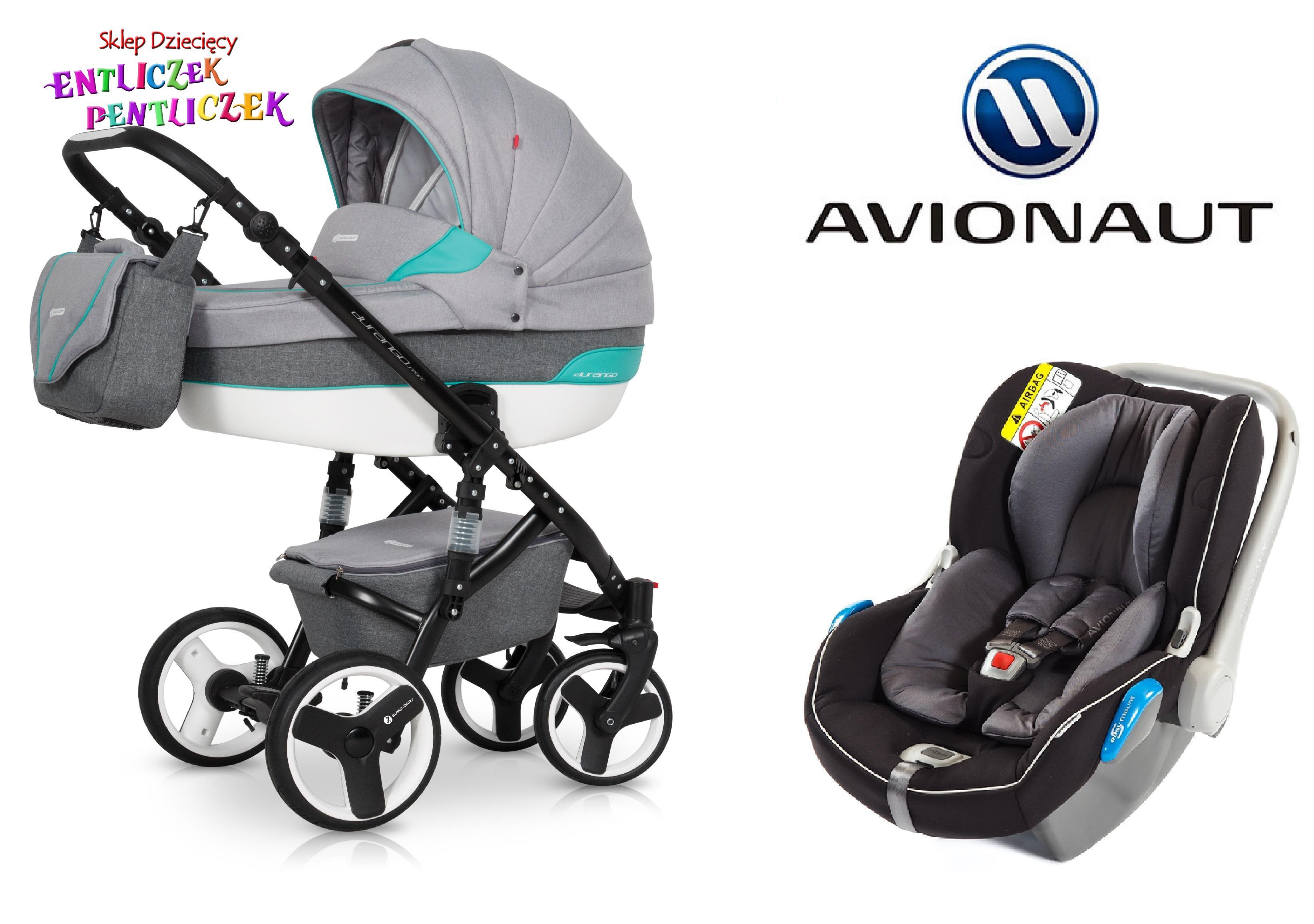 e68d152b9775a9 Wózek Euro-Cart DURANGO SPORT 3w1 Fotel KITE+ - Wózki wielofunkcyjne ...