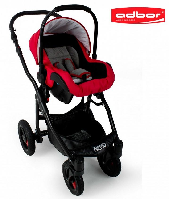 Wózek Adbor Nemo Standard 3w1 Z Fotelikiem Wózki Wielofunkcyjne